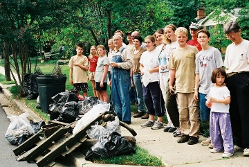 First cleanup in 2002